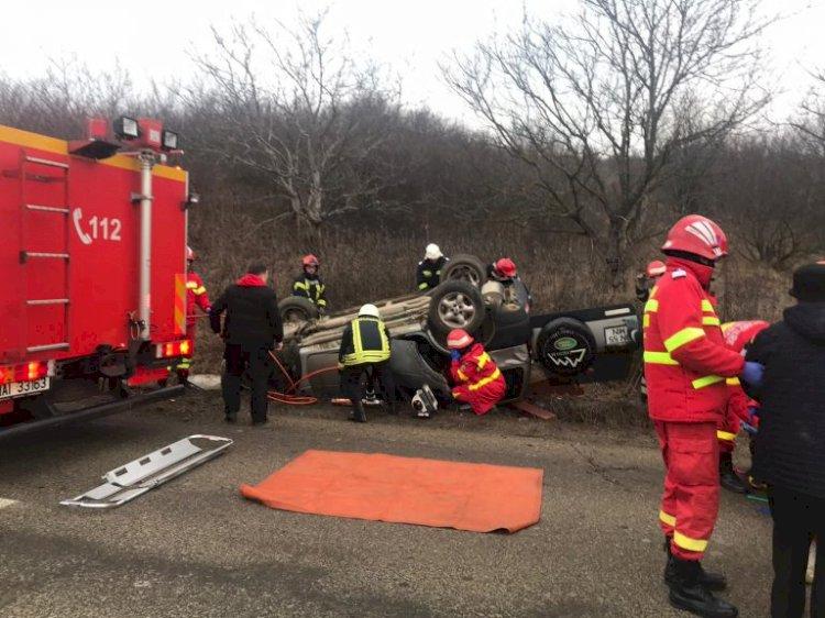 Accident rutier la Sigmir. O persoană este încarcerată