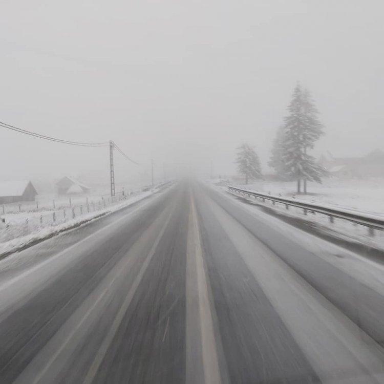 A nins în Pasul Tihuța !