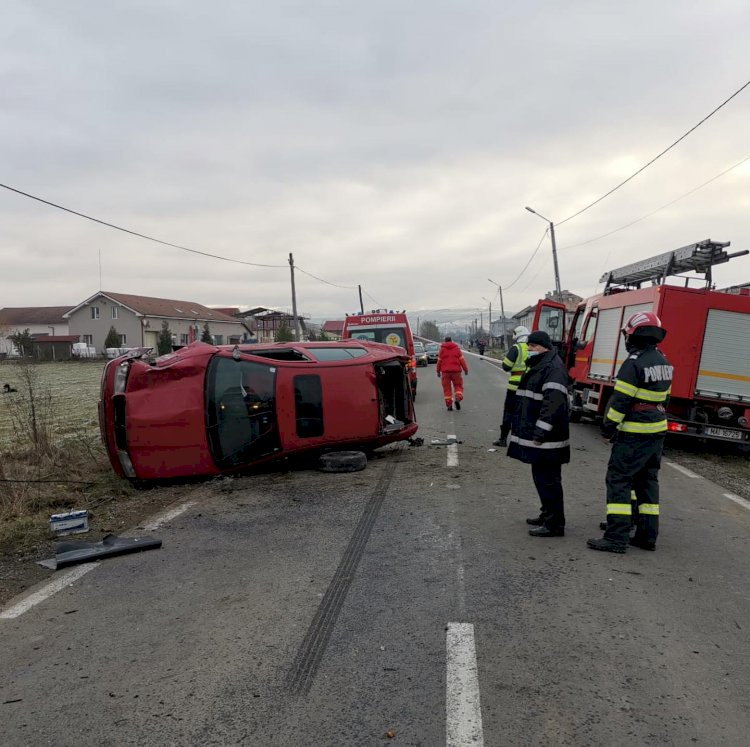 Accident  intre Orhei si Jelna