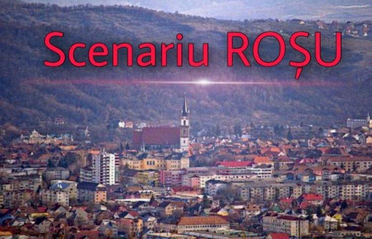 Municipiul Bistrița va intra în scenariul roşu pentru 14 zile